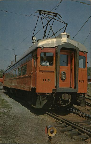 South Shore Electric Trainlines South Bend Indiana