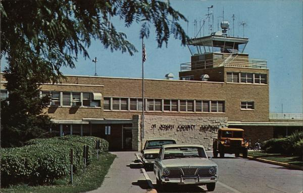 St. Joseph County Airport - Bendix Field Terminal Building South Bend Indiana