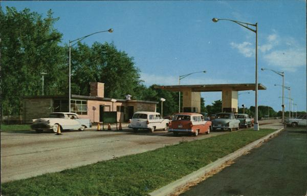 South Bend Toll Plaza Indiana