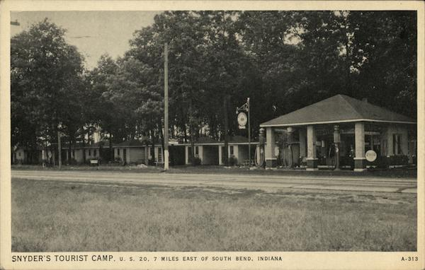 Snyder's Tourist Camp South Bend Indiana