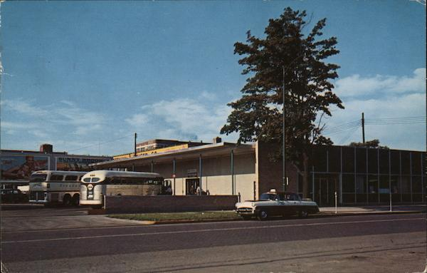 New Greyhound Bus Terminal South Bend Indiana