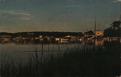 Sunset View of Ryders Cove on Cape Cod