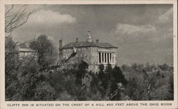 Clifty inn, Clifty Falls State Park Postcard