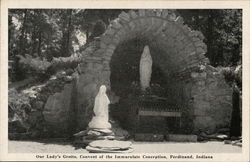 Our Lady's Grotto, Convent of the Immaculate Conception