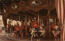 Knights of the Magig Kingdom - Fantasyland Carousel