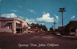 Greetings From Julian, California