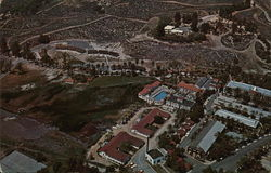 Air View of Guenther's Murrieta Hot Springs Resort