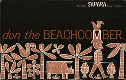 Hotel Sahara - Don the Beachcomber Restaurant