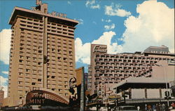 Hotels Mint and Fremont Postcard