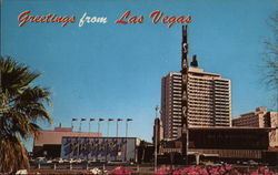 Greetings From Las Vegas, Hotel Sahara Postcard