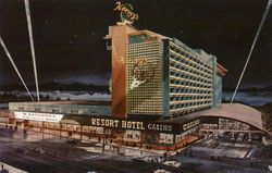 Harvey's Resort Hotel Postcard