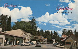 Street Scene, Crestline Village