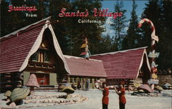 Greetings From Santa's Village