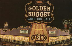 Golden Nugget Postcard