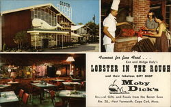 Lobster in the Rough Restaurant and Moby Dick's Gift Shop