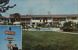 """World Famous"" Tagus Ranch Motel Postcard"