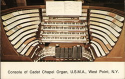 Console of Cadet Chapel Organ United States Military Academy