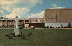 Marian High School Postcard