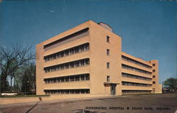 Osteopathic Hospital Postcard