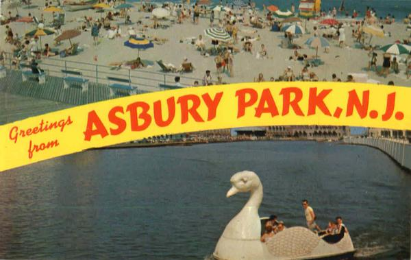Greetings From Asbury Park New Jersey