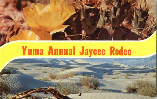 Yuma Annual Jaycee Rodeo Arizona