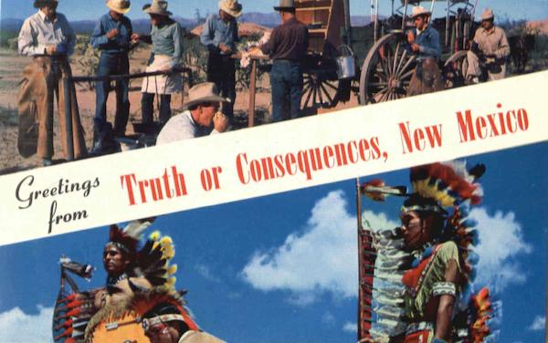 Greetings From Truth Or Consequences Scenic New Mexico