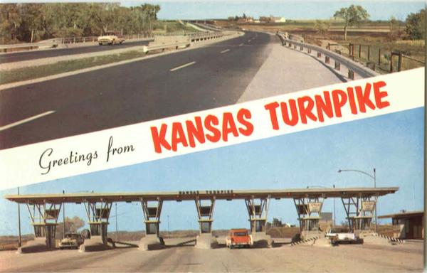 Greetings From Kansas Turnpike Scenic