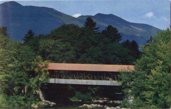 Covered Bridge White Mountains New Hampshire