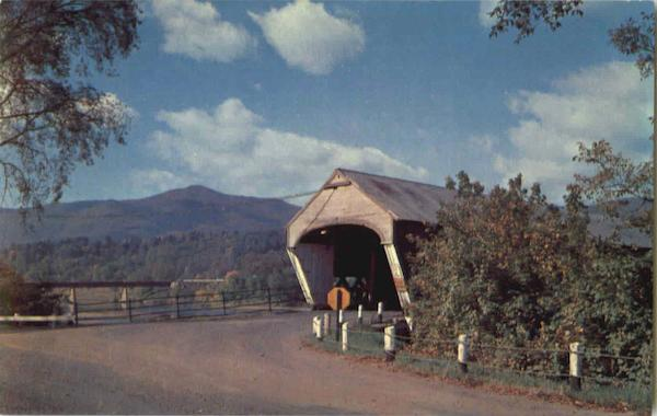 Covered Bridge Mt. Ascutney Vermont