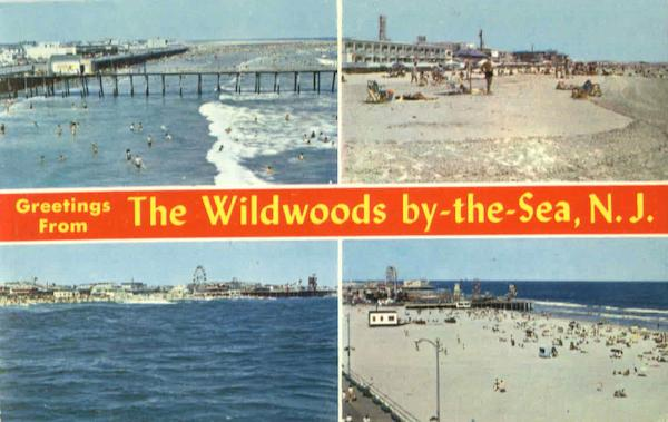 Greetings From The Wildwoods By The Sea New Jersey