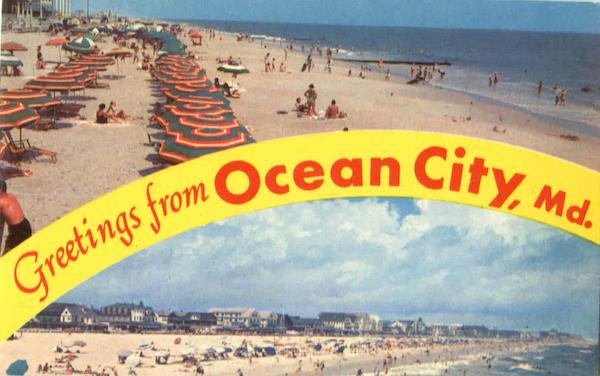 Greetings From Ocean City Maryland