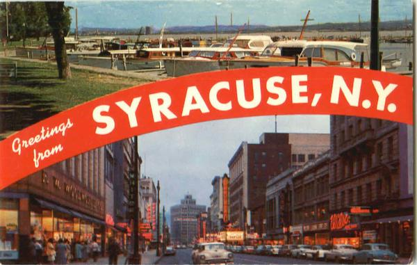Greetings From Syracuse New York