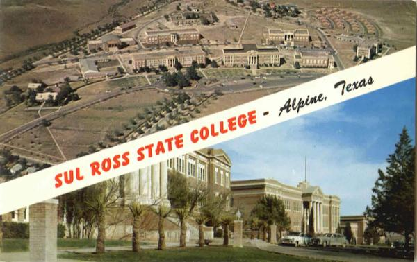 Sul Ross State College Alpine Texas