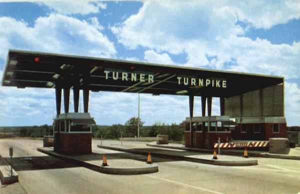 Entrance To The Turner Turnpike Scenic Oklahoma