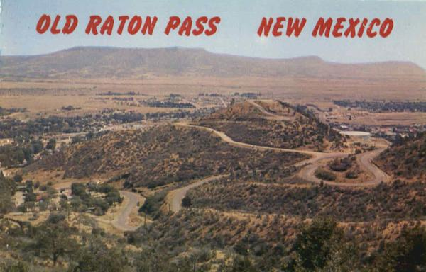 Old Raton Pass Scenic New Mexico
