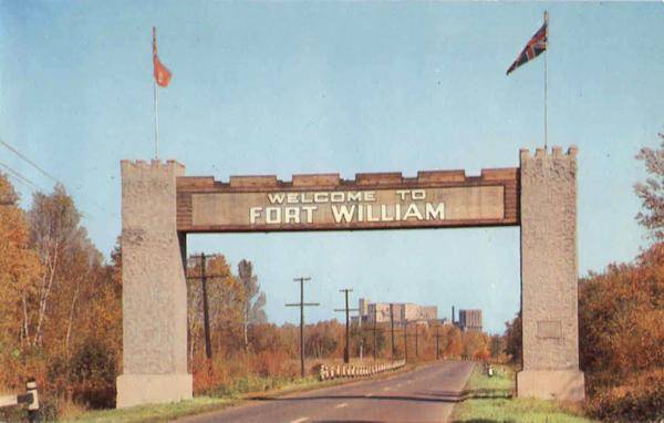 Welcome To Fort William Ontario Canada