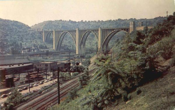 The Westinghouse Bridge, Route 30 Pittsburgh Pennsylvania