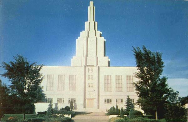Latter Day Saints Temple Idaho Falls