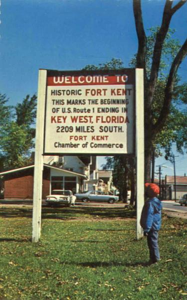 Welcome To Historic Fort Kent Key West Florida