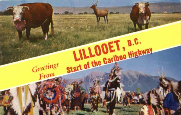 Greetings From Lillooet Canada British Columbia