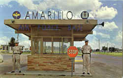Entrance To Amarillo Air Force Base