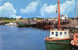 Fishing Boats In Famous Rock Harbor