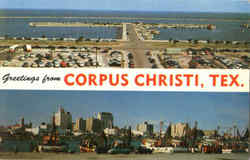 Greetings From Corpus Christi Postcard