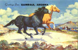 Greetings From Glendale Postcard