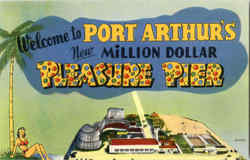 Welcome To New Million Dollar Pleasure Pier Postcard