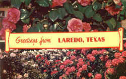 Greetings From Laredo Postcard