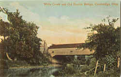 Wills Creek And Old Double Bridge