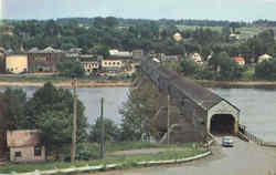 The Longest Covered Bridge In The World, Hartland Postcard