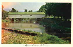 Doe River Bridge Postcard