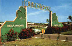 Entrance To Shamrock Village